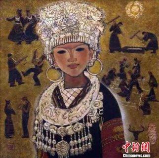 广东举办漆画展 百幅漆画展示民族画种美(图)