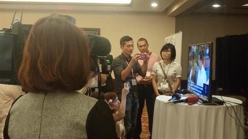 台湾随行记者看电视才知道蔡英文与尼加拉瓜总统见面