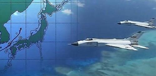 韩军方称解放军军军机去年数十次进入其防空识别区