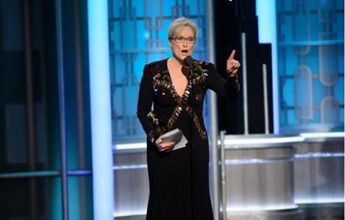 梅丽尔·斯特里普在金球奖获奖感言指斥川普