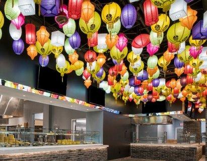 拉斯维加斯张灯结彩 欢迎中国游客春节度假