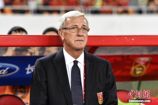 里皮备战亚洲杯 意媒称其已确定与中国队续约