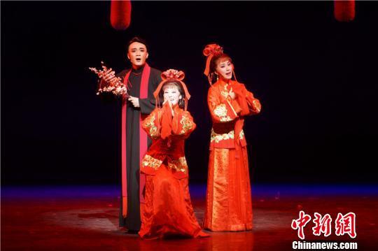 图为青春版现代越剧——《家》。绍兴市文广局供图