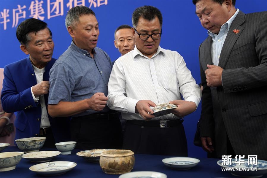 (文化)(2)190余件清代沉船瓷器入藏國博