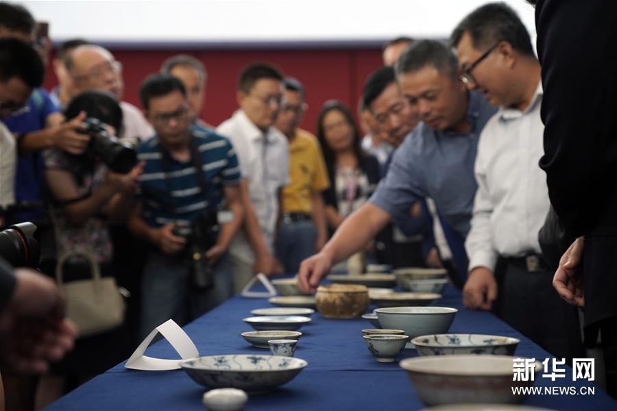 (文化)(4)190余件清代沉船瓷器入藏國博