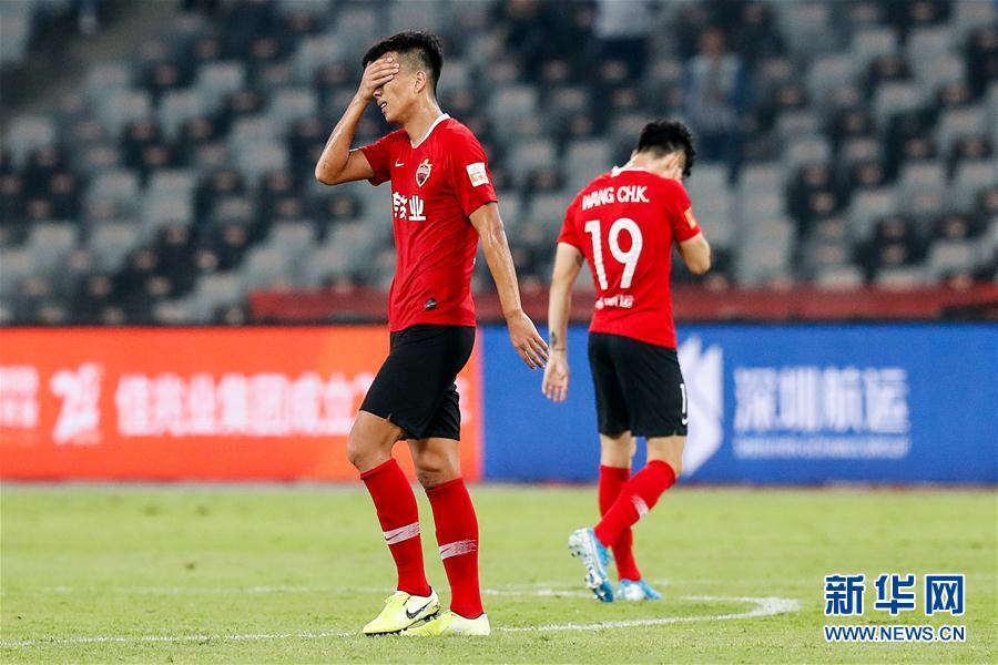 #(体育)(1)足球——中超:深圳佳兆业提前一轮降级
