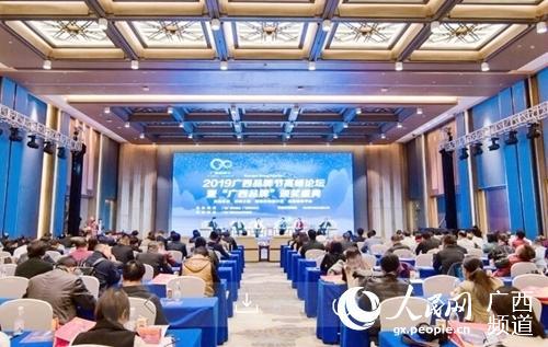 2019廣西品牌節高峰論壇在南寧隆