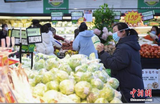 农业农村部:全国菜价较春节前涨7.2% 春节后猪肉批发均价每公斤5