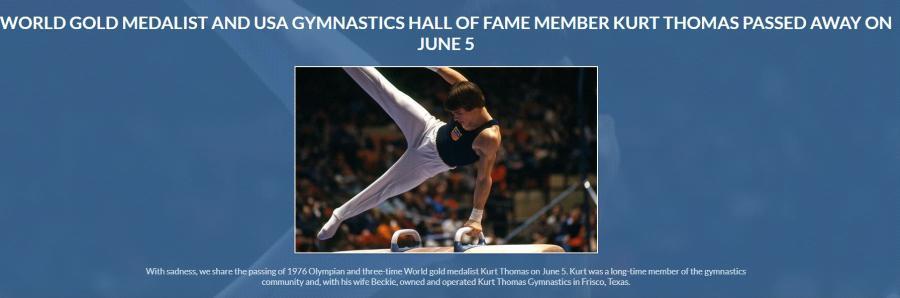 美国体操第一个世界冠军