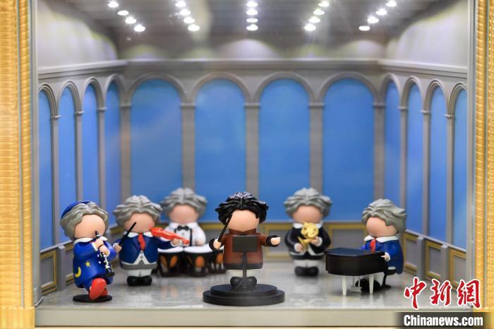 贝多芬盲盒。 上海音乐厅 供图 摄