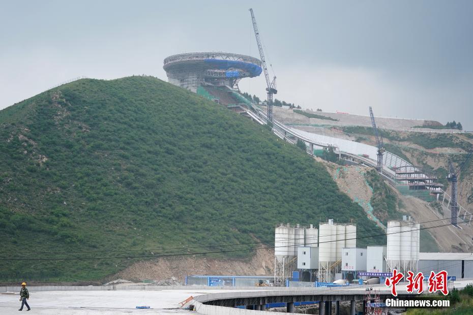 探访北京冬奥会张家口赛区场馆建设