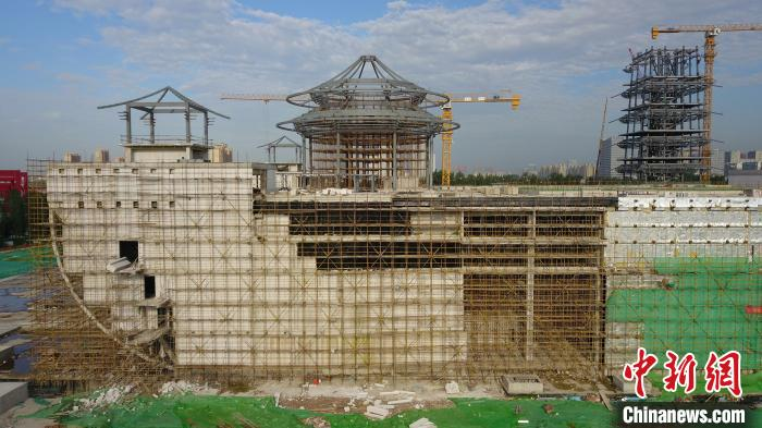 中国大运河博物馆钢结构主体已建成明年7月前开馆迎客