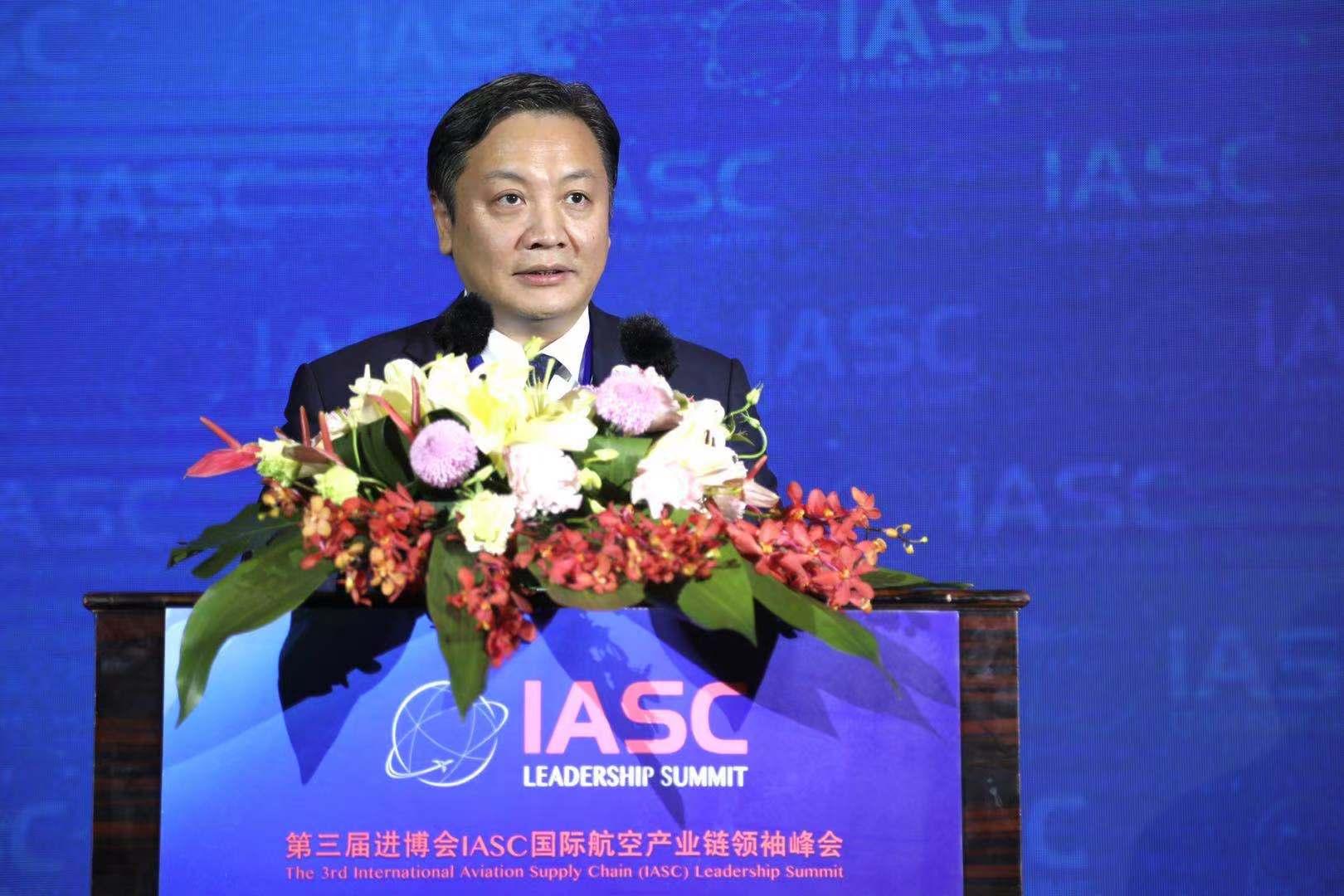 胡伟:为航空产业建好生态圈 杭州有信心也有能力