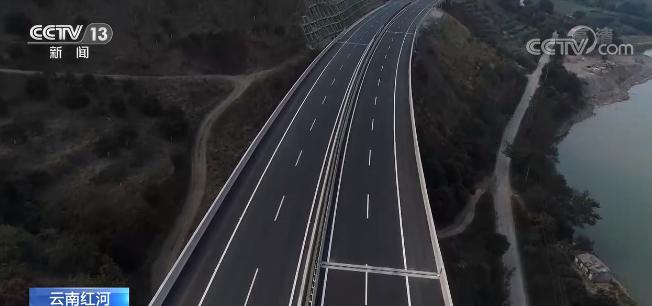 首条横跨红河流域的云南元蔓高速公路正式通车运营